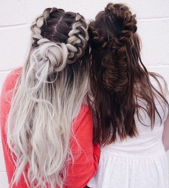 Beautiful Hair | Beautiful Hair | Pinterest | Hair Style With Regard To Brunette Macrame Braid Hairstyles (View 11 of 25)