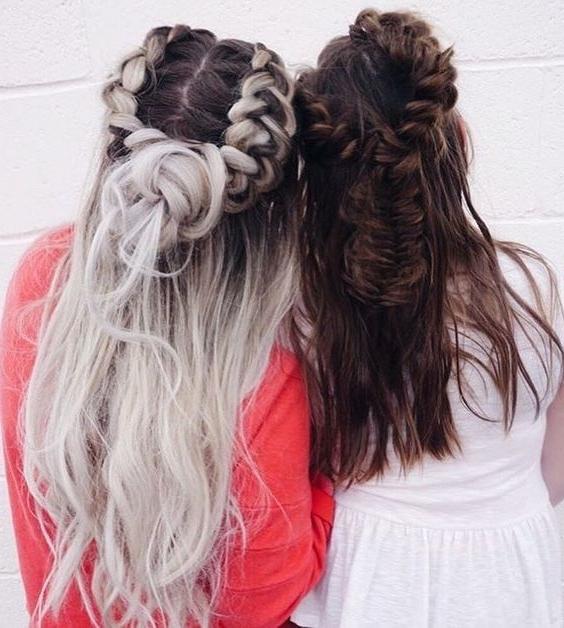 Beautiful Hair | Beautiful Hair | Pinterest | Hair Style With Regard To Brunette Macrame Braid Hairstyles (View 11 of 25)