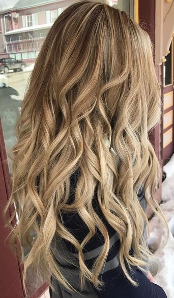 Beautiful Honey Blonde – Mane Interest For Honey Blonde Hairstyles (View 16 of 25)