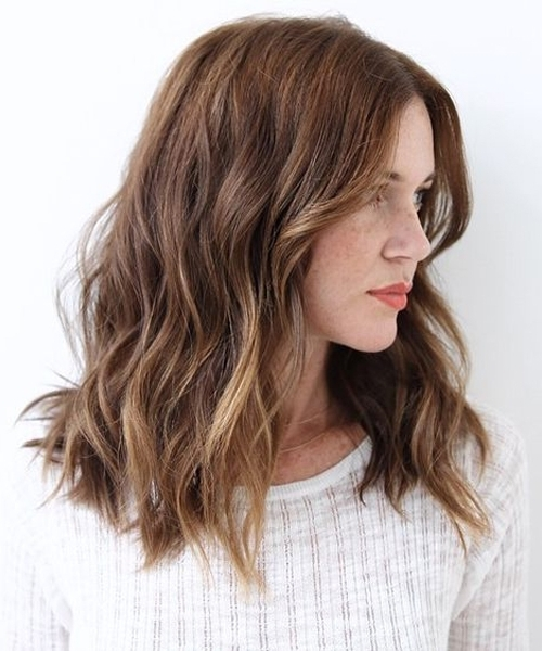 Beautiful Lush Wavy Hairstyles – Latest Wavy Hairstyle Trends Intended For Lush And Curly Blonde Hairstyles (View 8 of 25)
