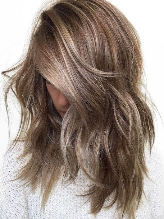 Featured Photo of Beige Balayage For Light Brown Hair