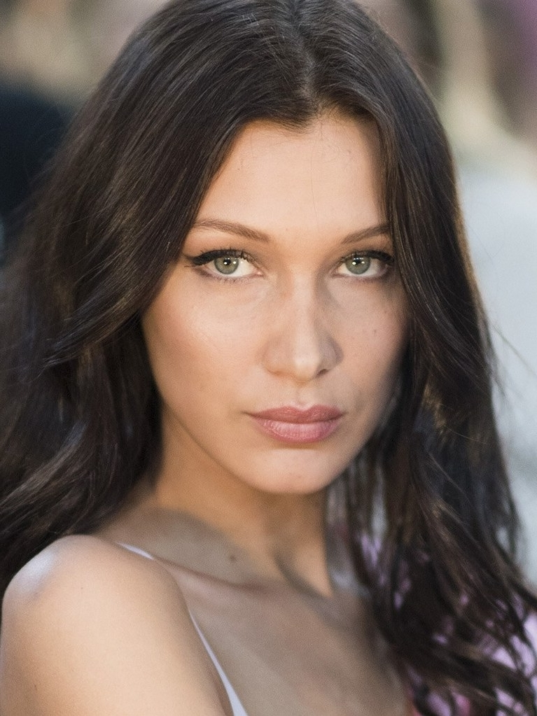 Bella Hadid Debuts New Haircut With Bangs On Instagram | Allure In Gigi Hadid Inspired Ponytail Hairstyles (View 4 of 25)