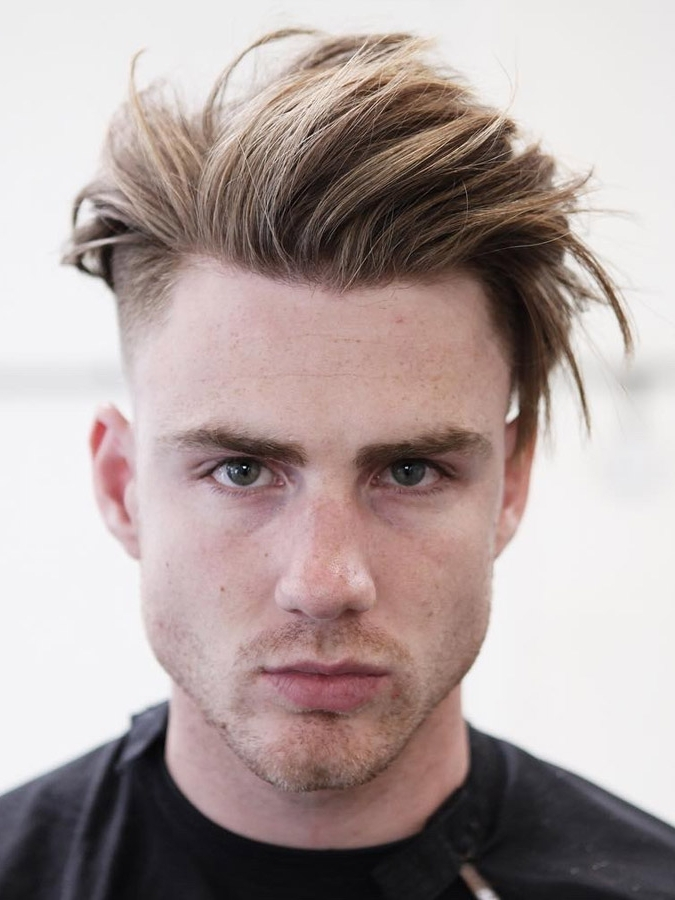 Best 30 Blonde Hairstyles For Men In 2018 Inside Long Top Undercut Blonde Hairstyles (View 3 of 25)