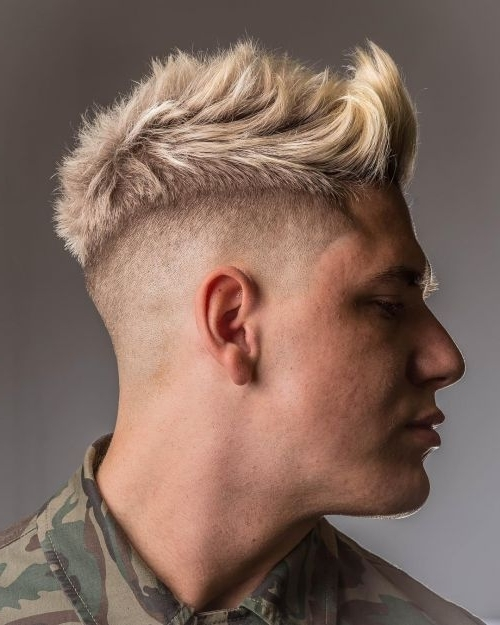 Best 30 Blonde Hairstyles For Men In 2018 With Regard To Fade To White Blonde Hairstyles (View 8 of 25)