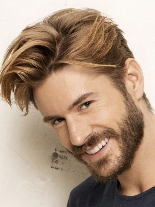 Best 30 Blonde Hairstyles For Men In 2018 With Regard To Shaggy Fade Blonde Hairstyles (View 9 of 25)