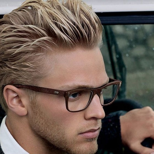 Best 40 Blonde Hairstyles For Men 2018 Regarding All Over Cool Blonde Hairstyles (View 18 of 25)