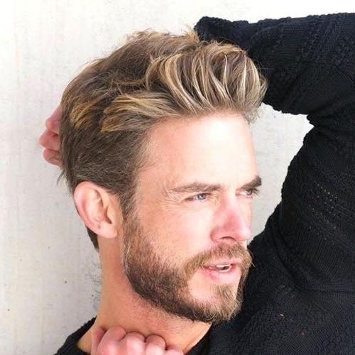 Best 40 Blonde Hairstyles For Men 2018 Regarding Dirty Blonde Hairstyles (View 20 of 25)