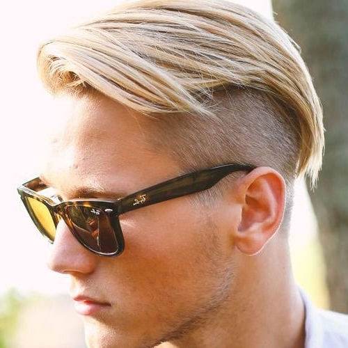 Best 40 Blonde Hairstyles For Men 2018 Regarding Long Top Undercut Blonde Hairstyles (View 17 of 25)