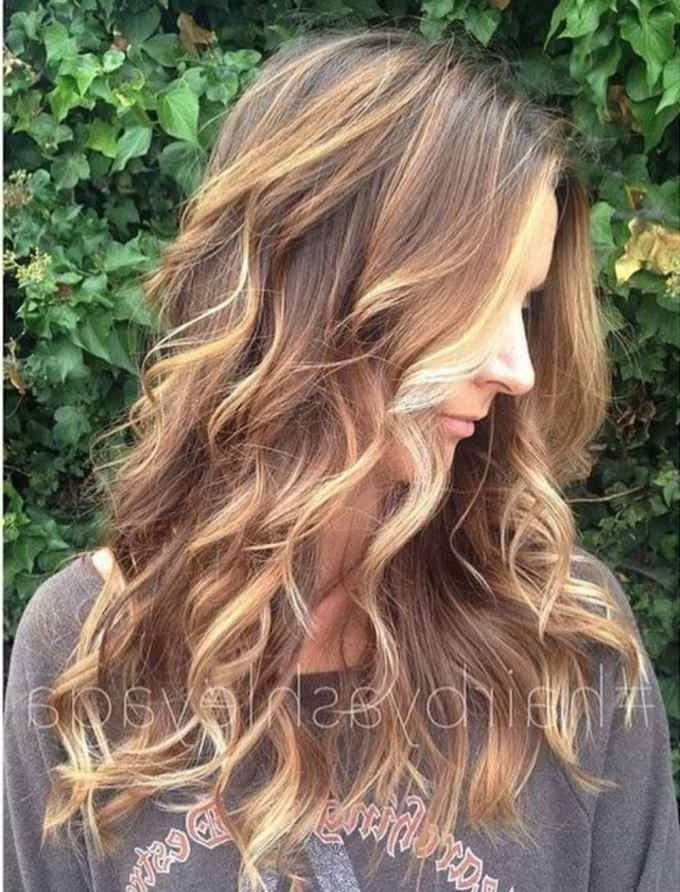 Best Balayage Hair Color Ideas: 70 Flattering Styles For 2018 | Hair Intended For Tortoiseshell Curls Blonde Hairstyles (View 10 of 25)