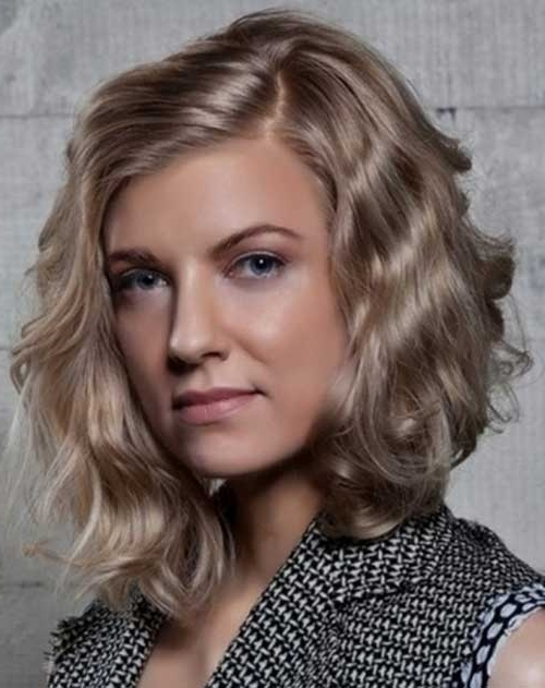 Best Bob Cuts For Curly Hair | Short Hairstyles 2017 – 2018 | Most In Wavy Blonde Bob Hairstyles (View 19 of 25)