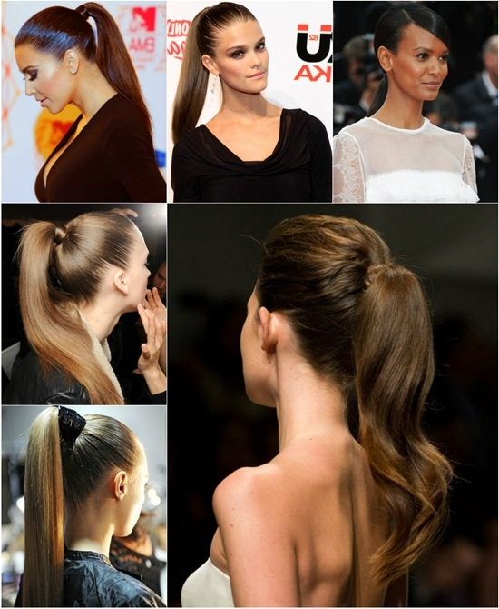 Best Clip In Hair Extensions For Latest Hairstyles 2015 Vpfashion Pertaining To Sleek Ponytail Hairstyles With Waves (View 21 of 25)