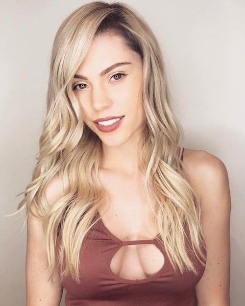 Best Hair Color For Fair Skin: 53 Ideas You Probably Missed Intended For Pale Blonde Balayage Hairstyles (View 12 of 25)