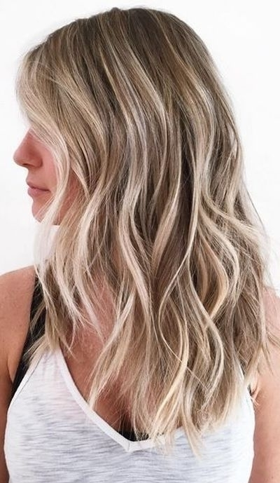 Best Hair Color For Fair Skin: 53 Ideas You Probably Missed With Contrasting Highlights Blonde Hairstyles (View 14 of 25)