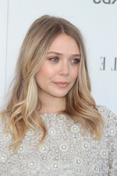 Best Hair Color For Green Eyes And Different Skin Tones In Pale Blonde Balayage Hairstyles (View 20 of 25)