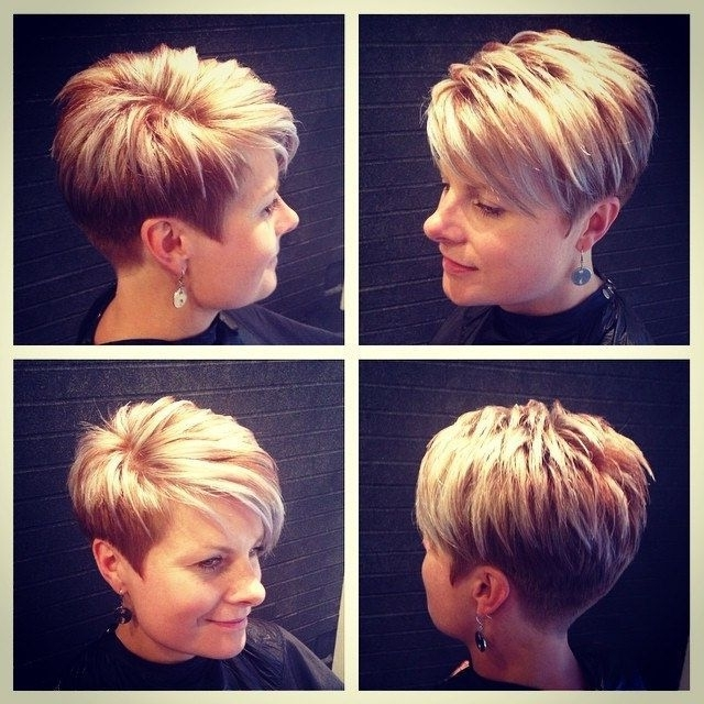 Best Hairstyle For Asian Round Face   Wedge Hairstyles Layered For Most Recently Pixie Wedge Hairstyles (View 7 of 25)