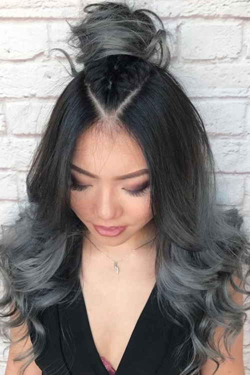 Best Ombre Hairstyles – Blonde, Red, Black And Brown Hair | Love Ambie Throughout Current Reverse Gray Ombre Pixie Hairstyles For Short Hair (View 14 of 25)