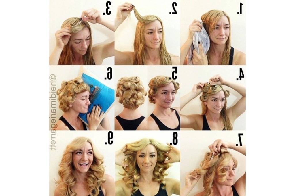 Best Overnight Hairstyles: No Heat Hairstyles For Great Hair Regarding Night Time Curls Hairstyles (View 4 of 25)
