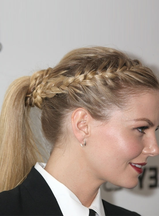 Best Ponytail Hairstyles – Style Samba Regarding High And Glossy Brown Blonde Pony Hairstyles (View 17 of 25)