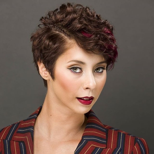 Best Wavy And Curly Pixie Hairstyles – New Hairstyles 2017 For Long With Most Up To Date Tousled Pixie Hairstyles With Undercut (View 11 of 25)
