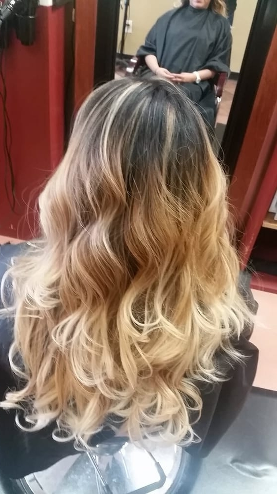 Beverly Did An Amazing Job! Went From A Low Blonde Ombre (Roots Had Intended For Grown Out Balayage Blonde Hairstyles (View 15 of 25)