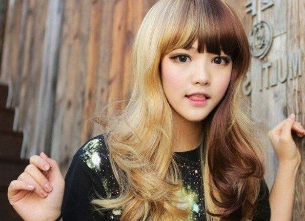 Bicolor | Hair, Beauty, Fitness | Pinterest | Dream Hair, Hair Inside Bi Color Blonde With Bangs (View 7 of 25)