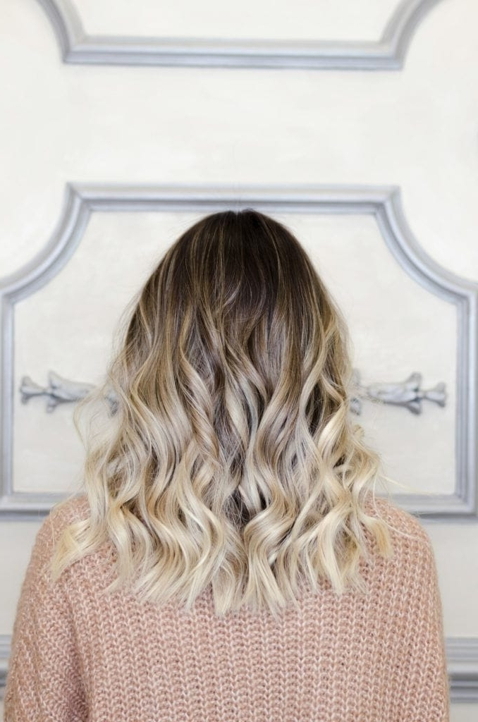 Black Ombre Hair: The Best Ways To Pull Off Ombre On Dark Hair Regarding Icy Ombre Waves Blonde Hairstyles (View 18 of 25)