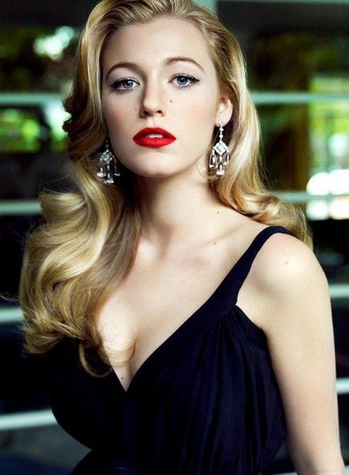 Blake Lively, Channelling Old Hollywood Glamour (View 6 of 25)