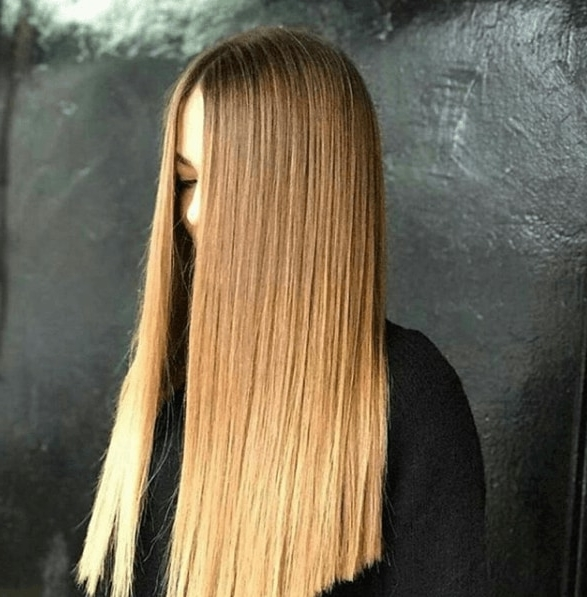 Blonde And Brown Hair: The Perfect Colour Combination You Need To Try With Regard To Poker Straight Cool Blonde Style (View 14 of 25)