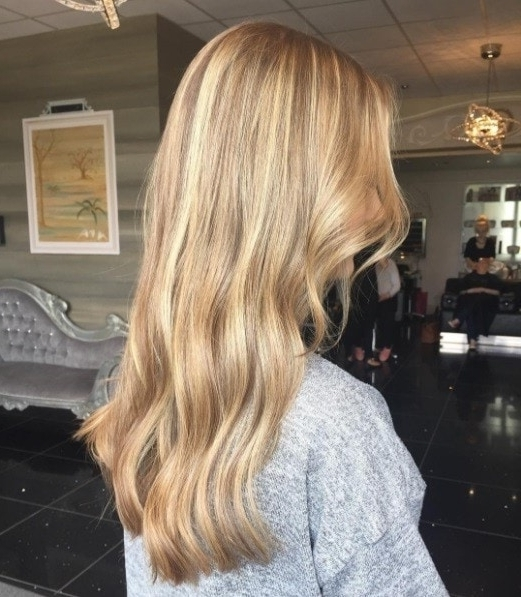 Blonde Balayage: 15 Sublime Shades We're Dying To Try Regarding Butterscotch Blonde Hairstyles (View 6 of 25)