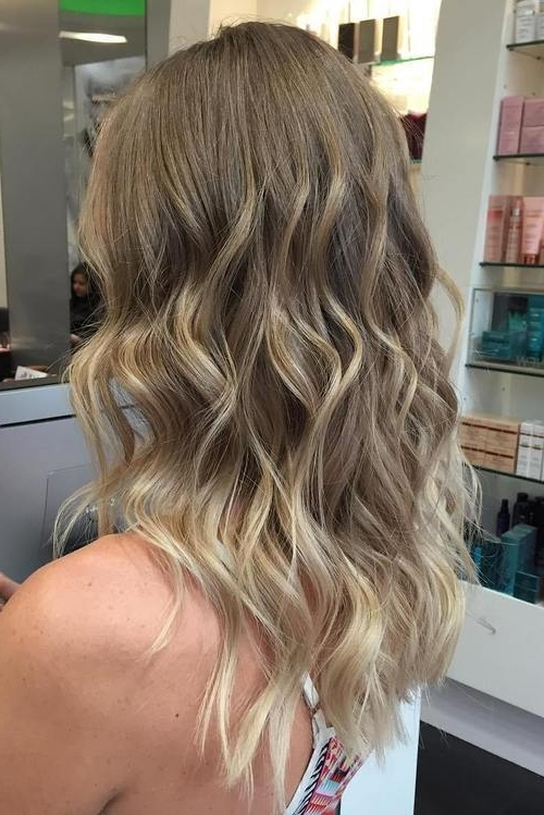 Blonde Balayage Hair Colors With Highlights |Balayage Blonde With Regard To Cool Dirty Blonde Balayage Hairstyles (View 11 of 25)