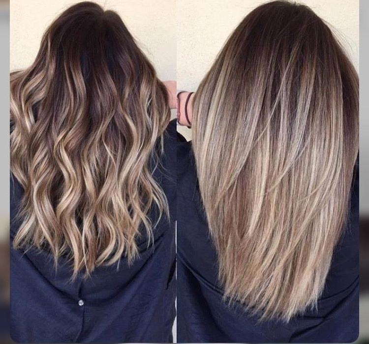 Blonde Balayage Hair. Medium Length (View 23 of 25)