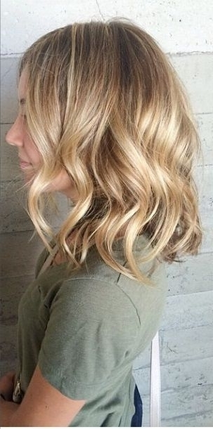 Blonde Balayage Medium Length | Hair Styles, Tips And Tricks For With Regard To Medium Honey Hued Blonde Hairstyles (View 13 of 25)