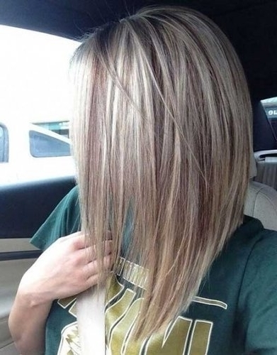 Blonde Bob Hairstyles Short Hairstyles Most Long Stacked Bob Hairstyles Within Stacked White Blonde Bob Hairstyles (View 11 of 25)