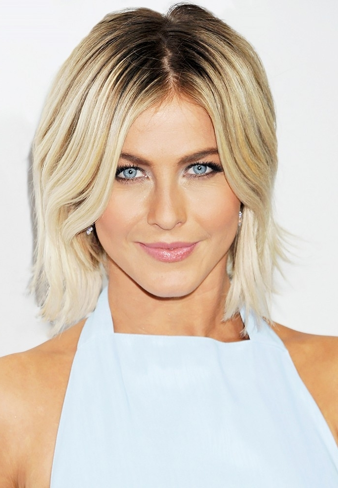 Blonde Hair Colors With Dark Roots For 2019 | Haircuts, Hairstyles With Regard To Platinum Blonde Hairstyles With Darkening At The Roots (View 13 of 25)