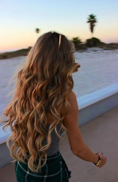 Blonde Hair Highlights – Blonde Hairstyles 2017 In Lush And Curly Blonde Hairstyles (View 12 of 25)