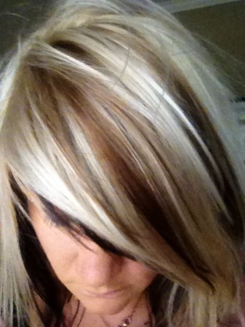 Blonde Hair With Dark Lowlights | Long Locks | Pinterest | Blondes Throughout Dark Locks Blonde Hairstyles With Caramel Highlights (View 14 of 25)