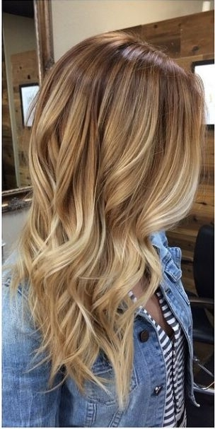 Blonde Hairstyle Long 2017 | Hair | Pinterest | Light Browns In White Blonde Hairstyles For Brown Base (View 3 of 25)