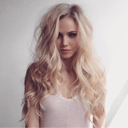 Blonde Hairstyles – Page 2 – Blonde Hairstyles 2017 In Pale Blonde Balayage Hairstyles (View 22 of 25)
