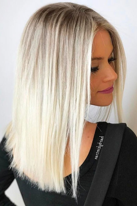 Blonde Hairstyles – Page 3 – Blonde Hairstyles 2017 Throughout Ombre Ed Blonde Lob Hairstyles (View 20 of 25)