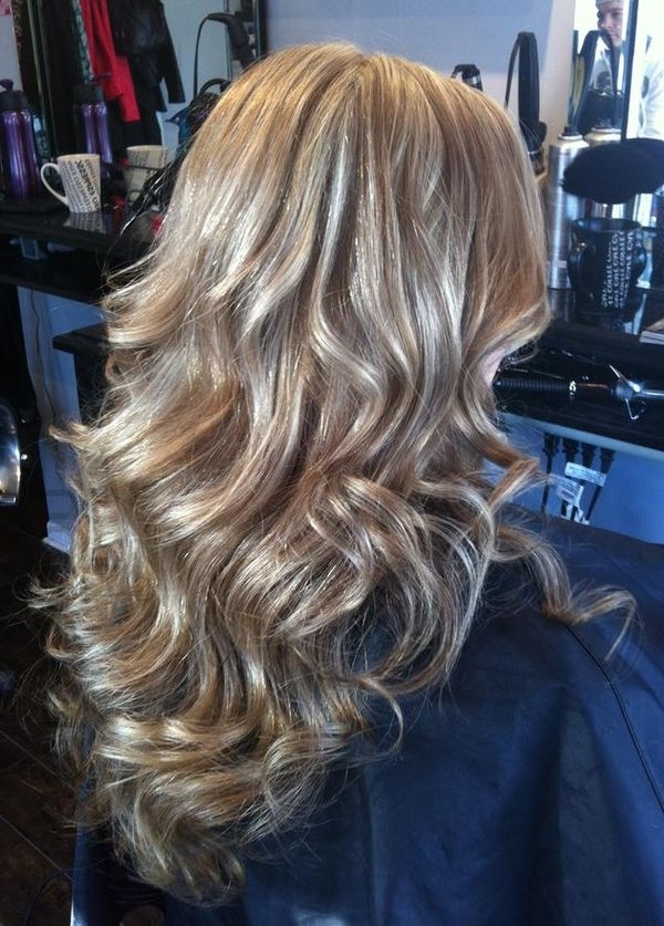 Blonde Highlights Ideas, Best Brown Hair With Blonde Highlights With Brunette Hairstyles With Dirty Blonde Ends (View 19 of 25)