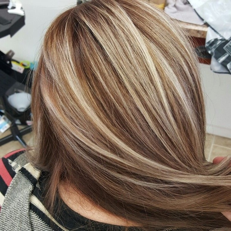 Blonde Highlights With Brown Base Www (View 2 of 25)