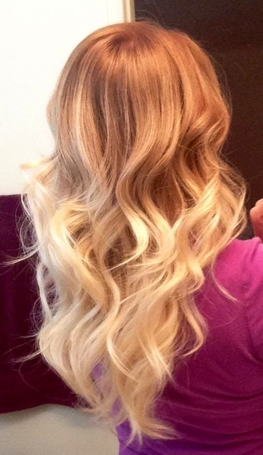 Blonde Ombre Hair To Charge Your Look With Radiance | 2P3Tt With Grown Out Platinum Ombre Blonde Hairstyles (View 8 of 25)