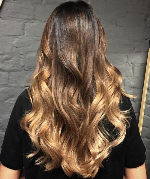 Blonde Ombre Hair To Charge Your Look With Radiance Inside Dishwater Waves Blonde Hairstyles (View 16 of 25)