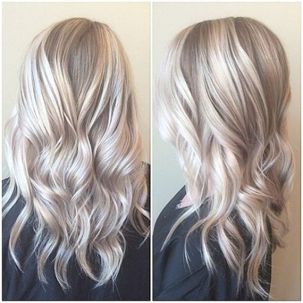 Blonde On Blonde Highlights – Google Search | Hair | Pinterest With Regard To Dark Blonde Hairstyles With Icy Streaks (View 16 of 25)