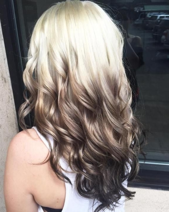Blonde To Black Ombre Hair (View 12 of 25)