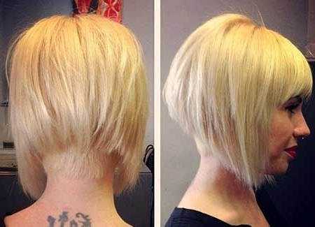 Bob Cut Hairstyle Pictures New 25 Blonde Bob Haircuts | Hairstyle Throughout Stacked White Blonde Bob Hairstyles (View 25 of 25)