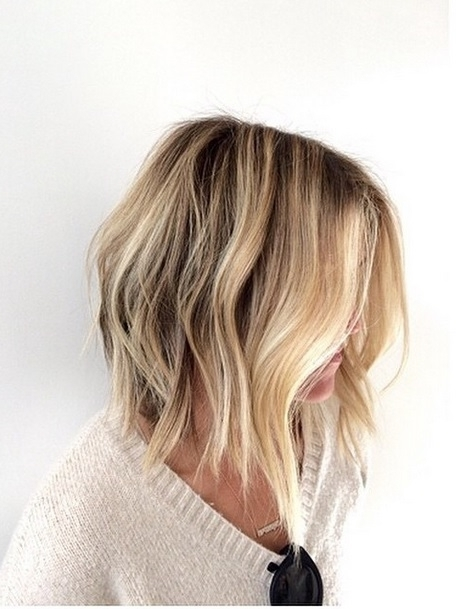 Bob Hairstyle – Mane Interest Regarding Long Blonde Bob Hairstyles In Silver White (View 22 of 25)
