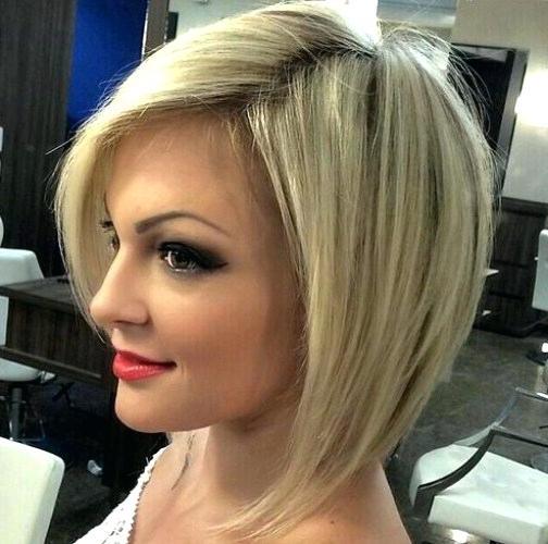 Bob Hairstyles 2017 Inverted Layered Blonde Bob Hairstyles Bob Pertaining To Inverted Blonde Bob For Thin Hair (View 21 of 25)
