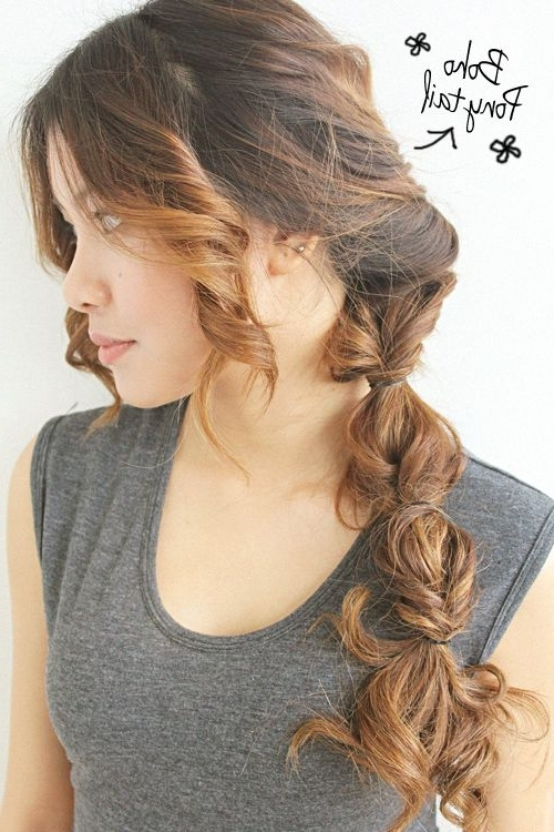 Boho Ponytail — This I Can Handle! | Hair Styles | Pinterest In Braided Boho Locks Pony Hairstyles (View 4 of 25)