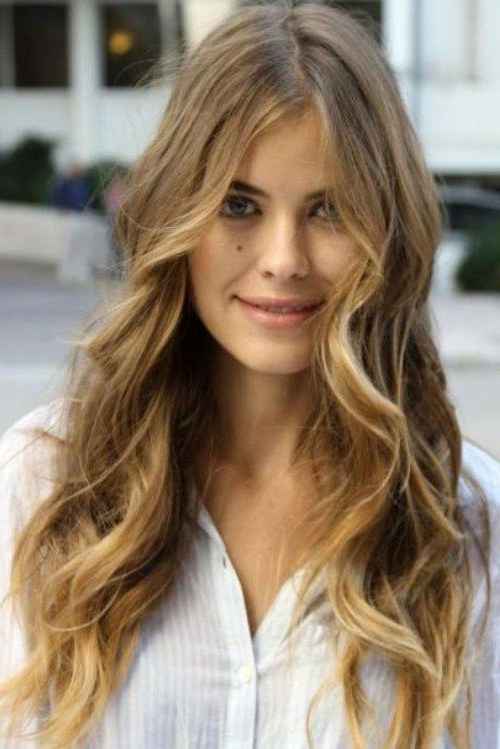 Boho Retro Long Wavy Hairstyles For Lush And Curly Blonde Hairstyles (View 25 of 25)